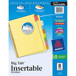 Avery WorkSaver 8 Tab Dividers