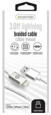 iEssentials iPhone 10 ft. Lightning USB Data Cable