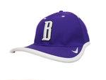 H - Nike Purple/White Coaches Cap