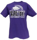 """T-Bsk - CI Sport """"Kiley"""" SS Basketball Tee - Purple"""