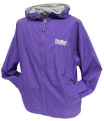 J - Collegiate Trends Purple Jacket Full Zip with Butler Logo Embroidered On Left Chest