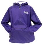 J - Collegiate Trends Purple 1/2 Zip Pullover Jacket ; Charles River Apparel