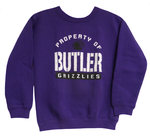 Youth Purple Crew Sweatshirt