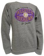 SS - Gray football sweatshirt