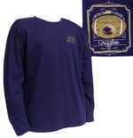 LS - Football Framed Purple Tee