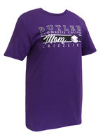 "Collegiate Trends ""Butler Mom"" Purple SS Tee"