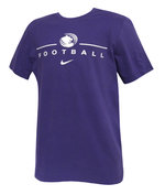 Branded Nike Purple SS Tee Football