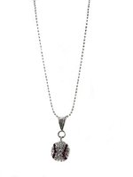 Game Time Bling Baseball Necklace