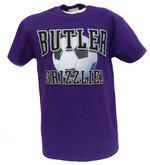 T - S - College House Soccer Purple T-shirt