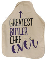 Neil Natural Canvas Apron