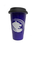 D - Campus Sales Purple Ceramic Travel Mug