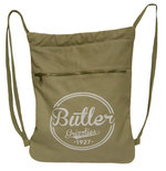 Backpack - Canvas Cinch Sack Khaki or Blue