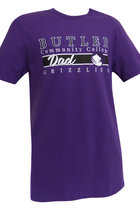 "Collegiate Trends ""Butler Dad"" Purple SS Tee"